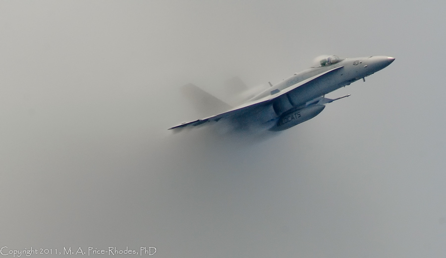 Coming out of the Sound Barrier